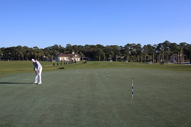 Practice Putting Green in Hilton Head
