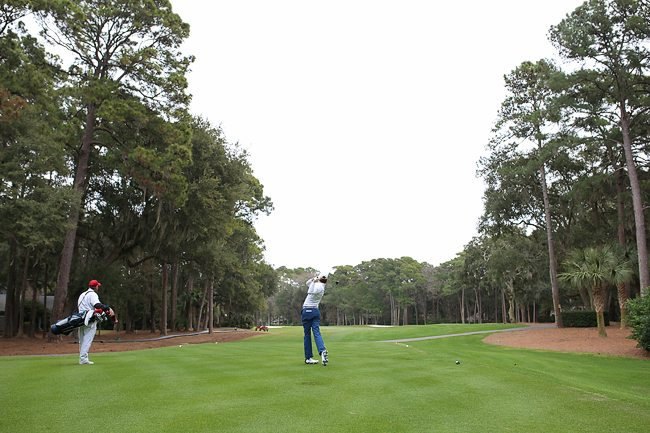 Narrow Fairways in Hilton Head