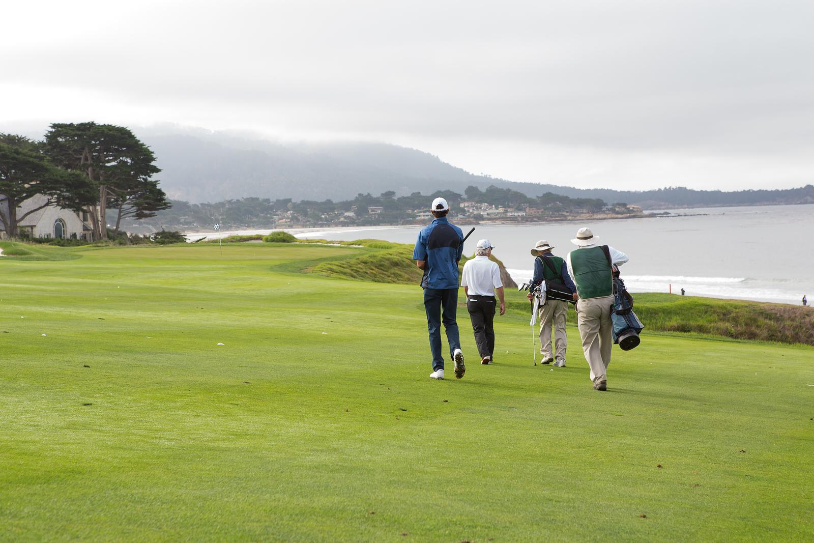 Famous Pebble Beach Golf Links