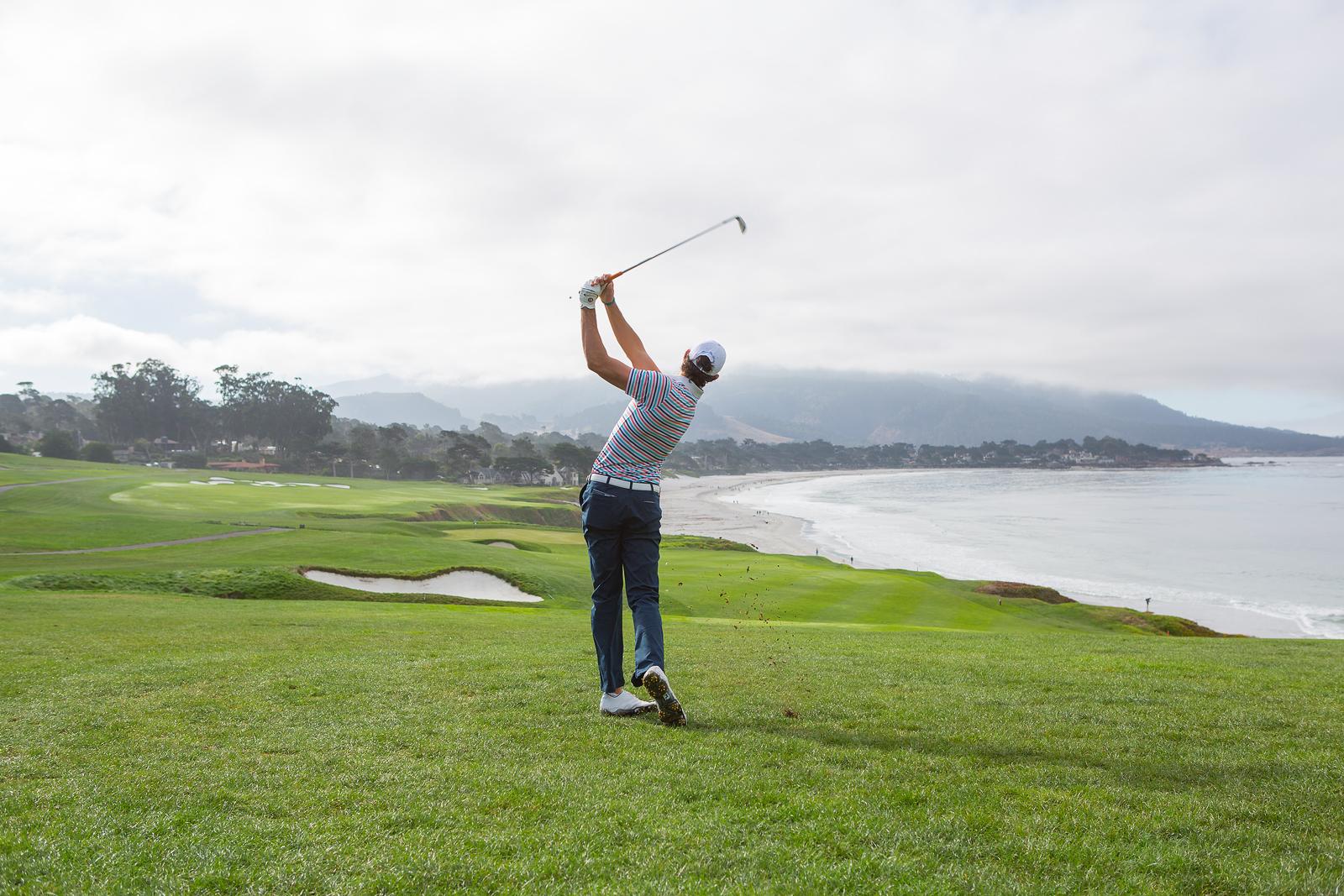 Golf on the coast