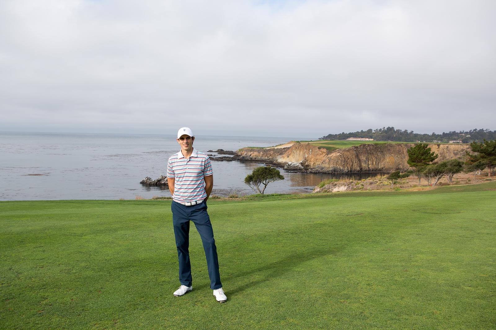 Bucket list golf trip at Pebble Beach