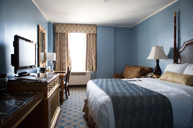 Francis Marion Hotel Room