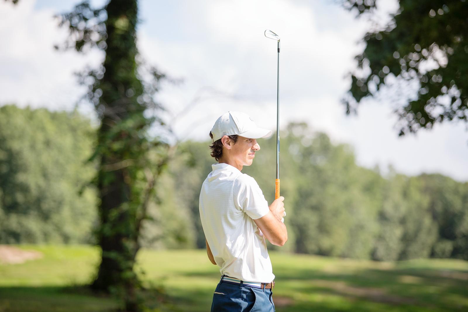 Stylish golf gear