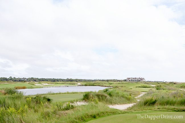 Famous 17th hole at The Ocean Course