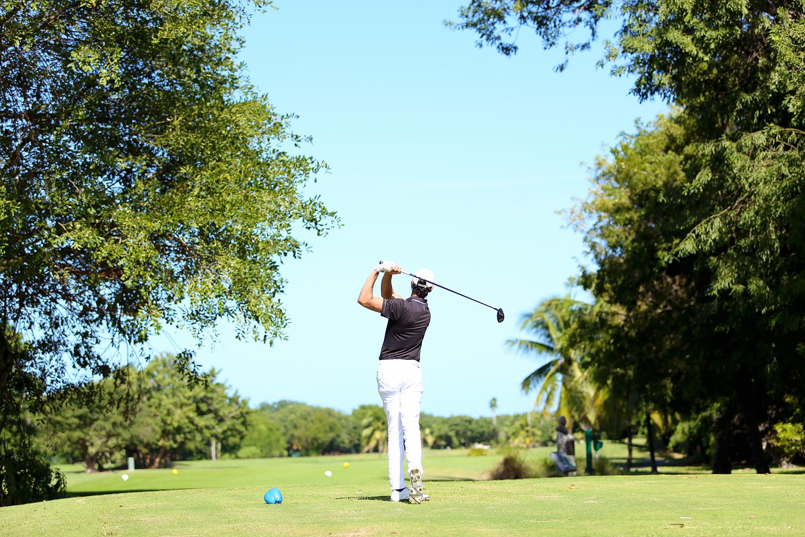 Final golf hole at Key West
