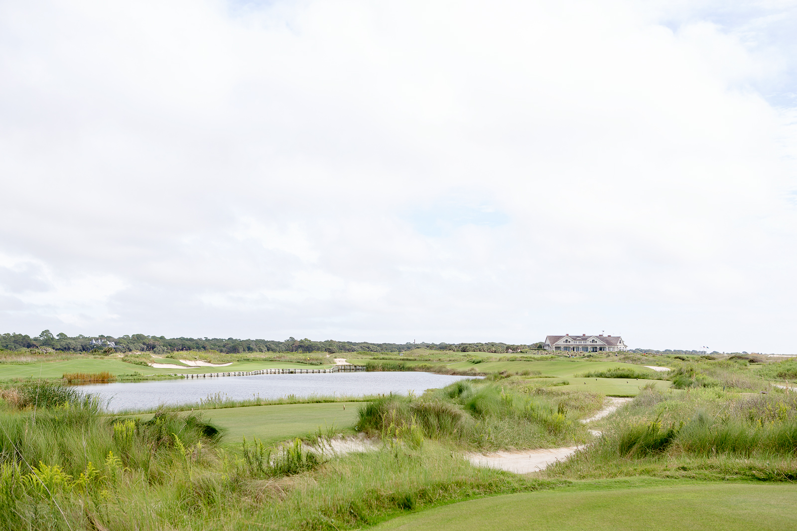 Ocean Course 17th hole view