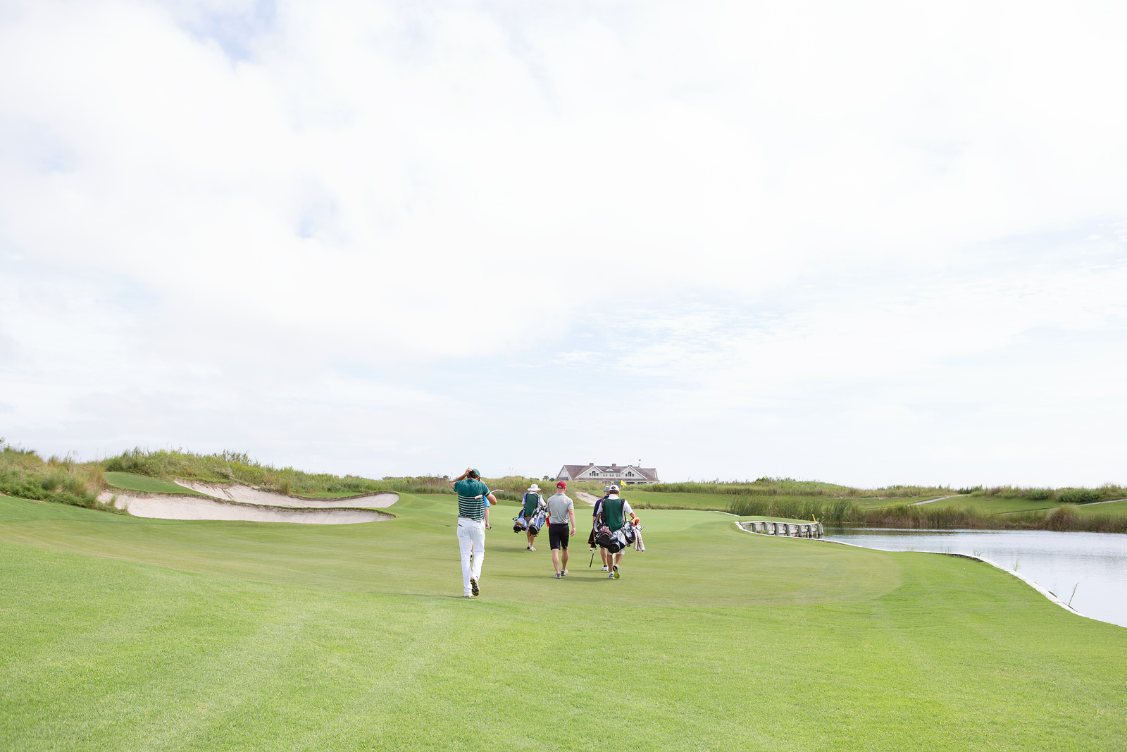 Ocean Course Walk to Green
