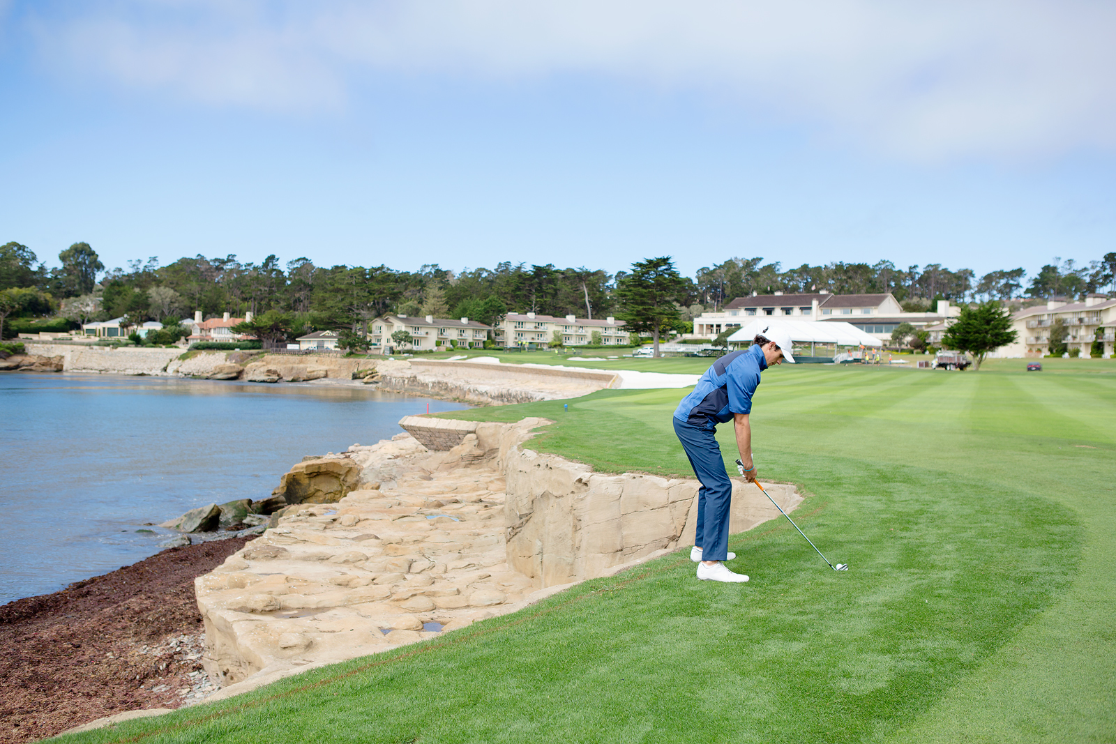 Pebble Beach 18th Approach