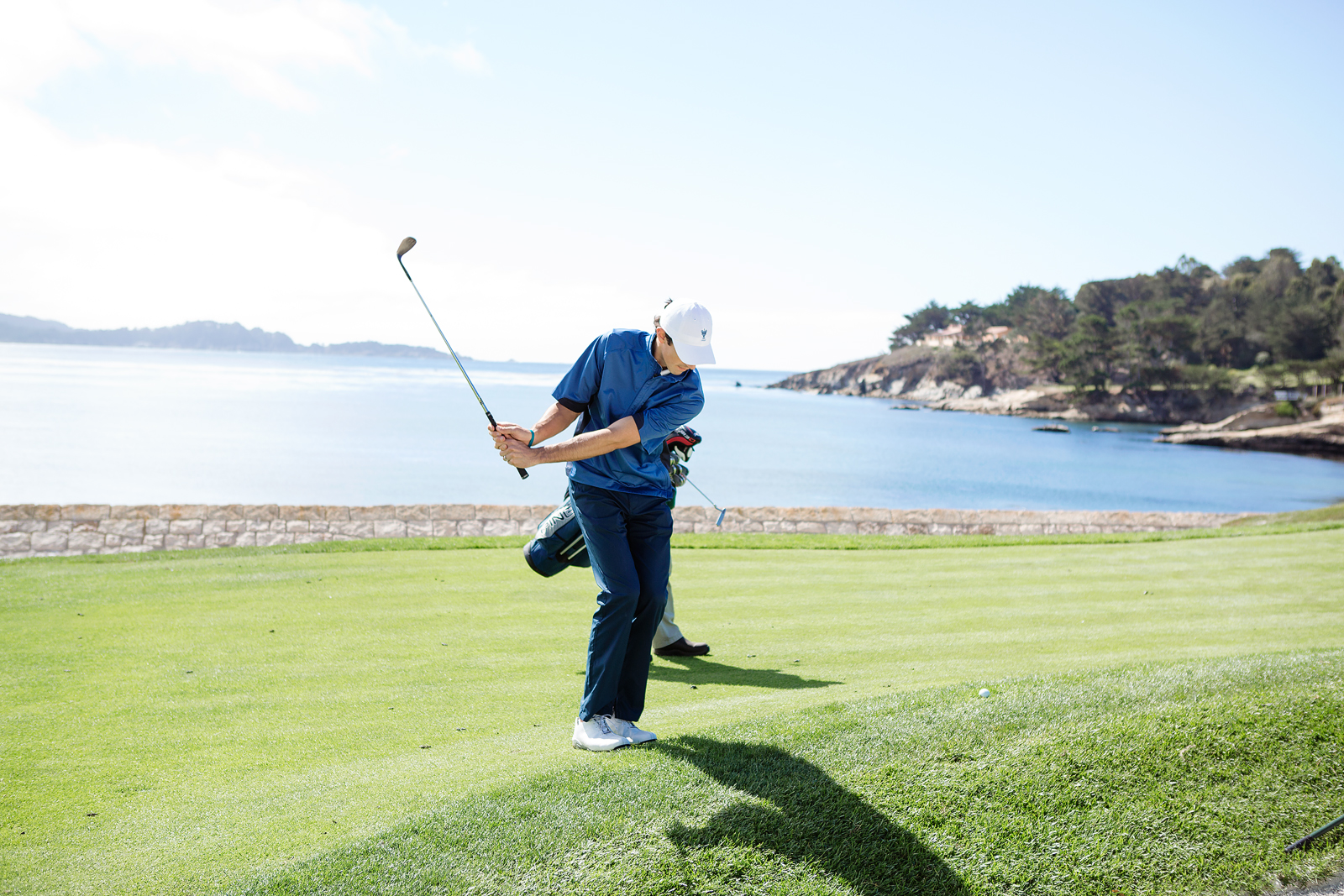 Pebble Beach 18th Chipping