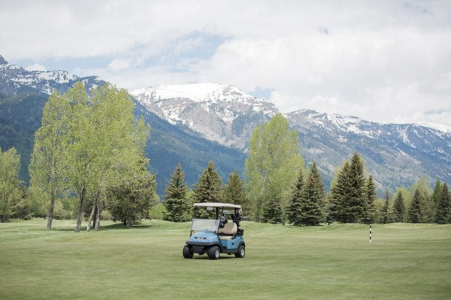 Hole 2 - Cart with Mountain