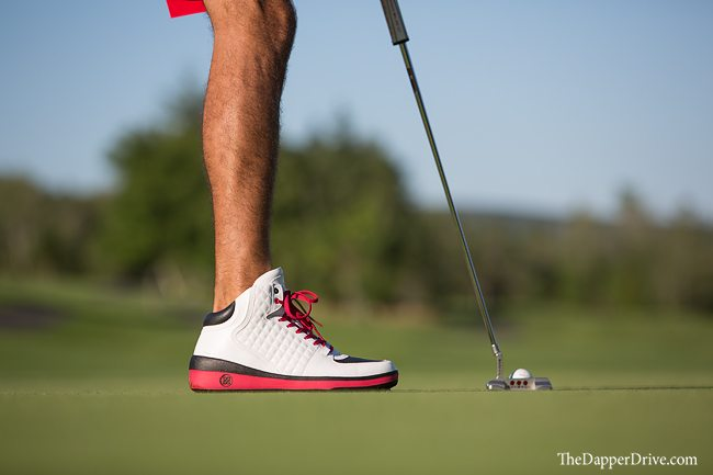 high top crusader golf shoes