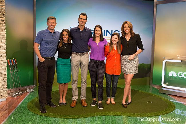 26c63b4e1f7 Golf Channel Morning Drive - Behind the Scenes - The Dapper Drive