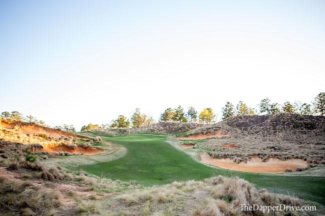 unique golf course