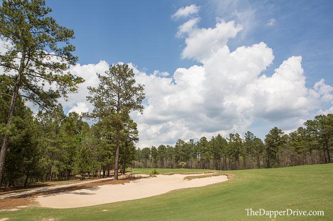 modern golf course
