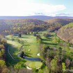 drone golf photography