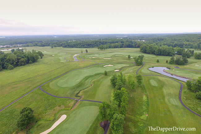 golf course aerial image