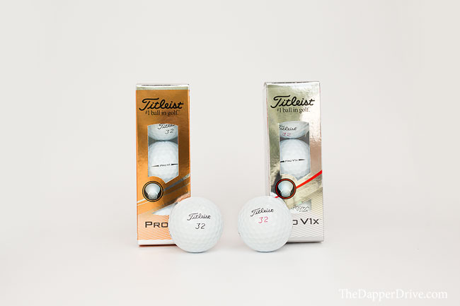Titleist golf ball.