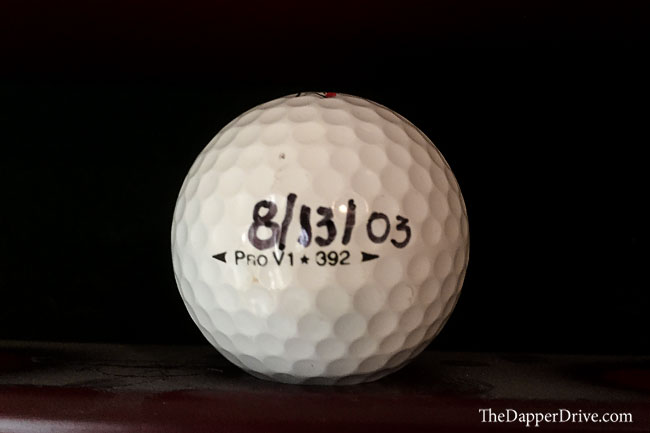 best ball in golf why i play the titleist pro v1x the dapper drive