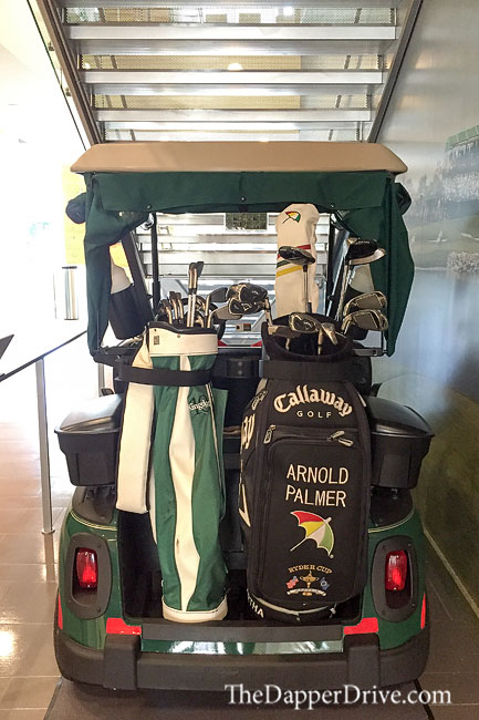 arnie's golf cart at golf channel