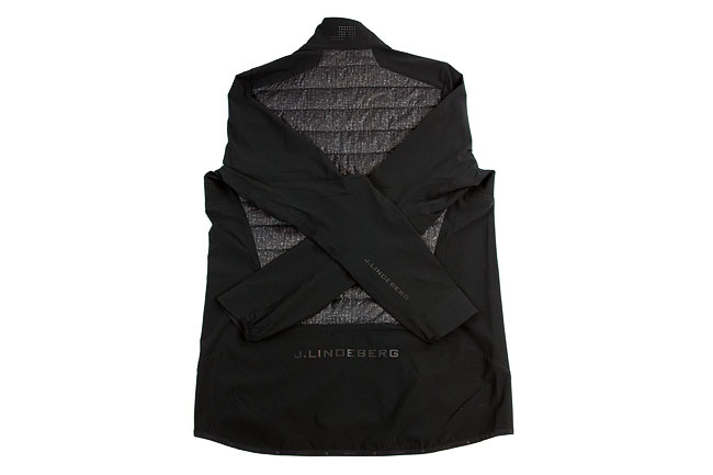 J. Lindeberg mixed hybrid jacket