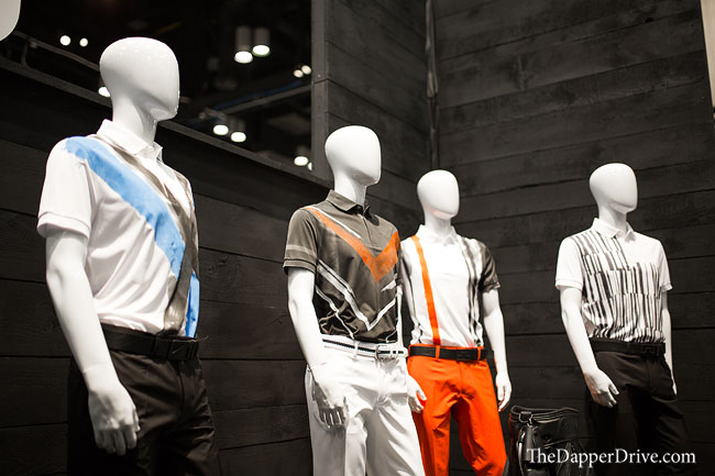 fashionable golf at pga show