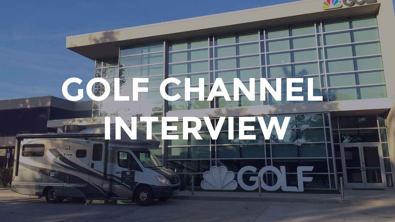 Interview on Golf Channel