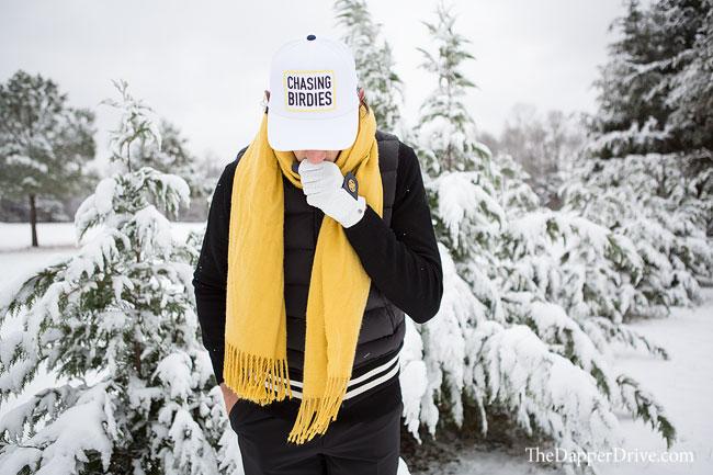 golf scarf