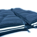 golf outerwear duel zippers