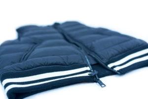 golf outerwear duel zippers