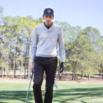 GFORE shawl collar sweater