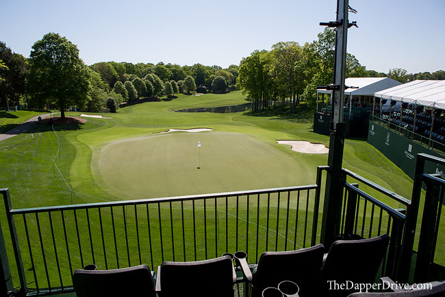 quail hollow green mile