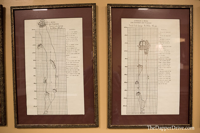 Donald ross course sketches