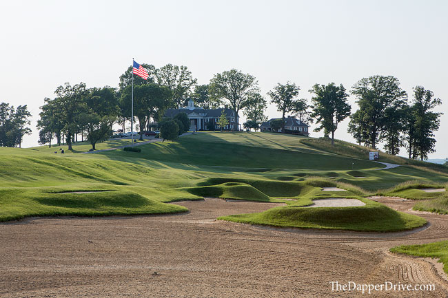 pete dye golf bunkers