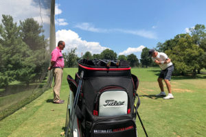 Titleist club fitting